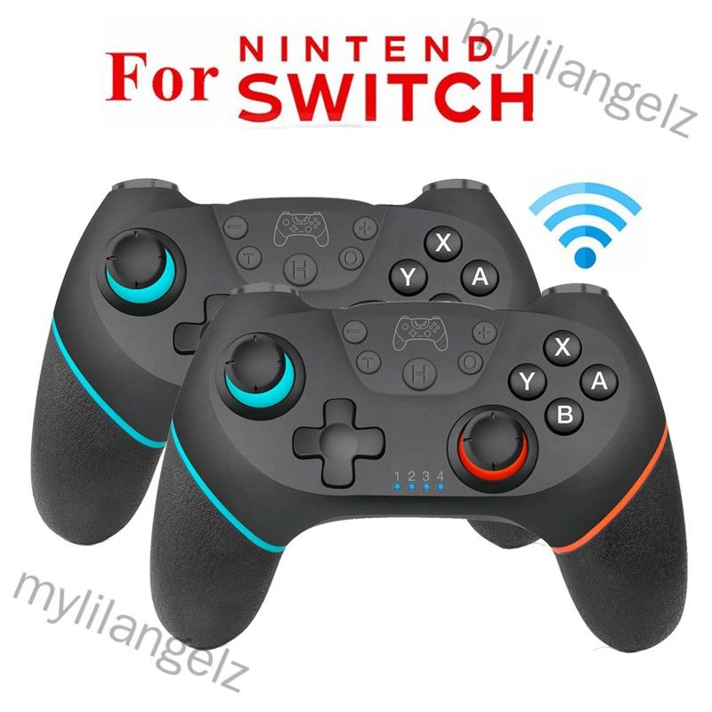 Mylilangelz 1/2 Pcs Wireless Pro Controller Gamepad Joypad Remote for Nintend Switch Console