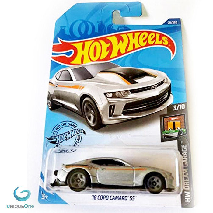 18 Copo Camaro SS HW Dream Garage  Hot Wheels