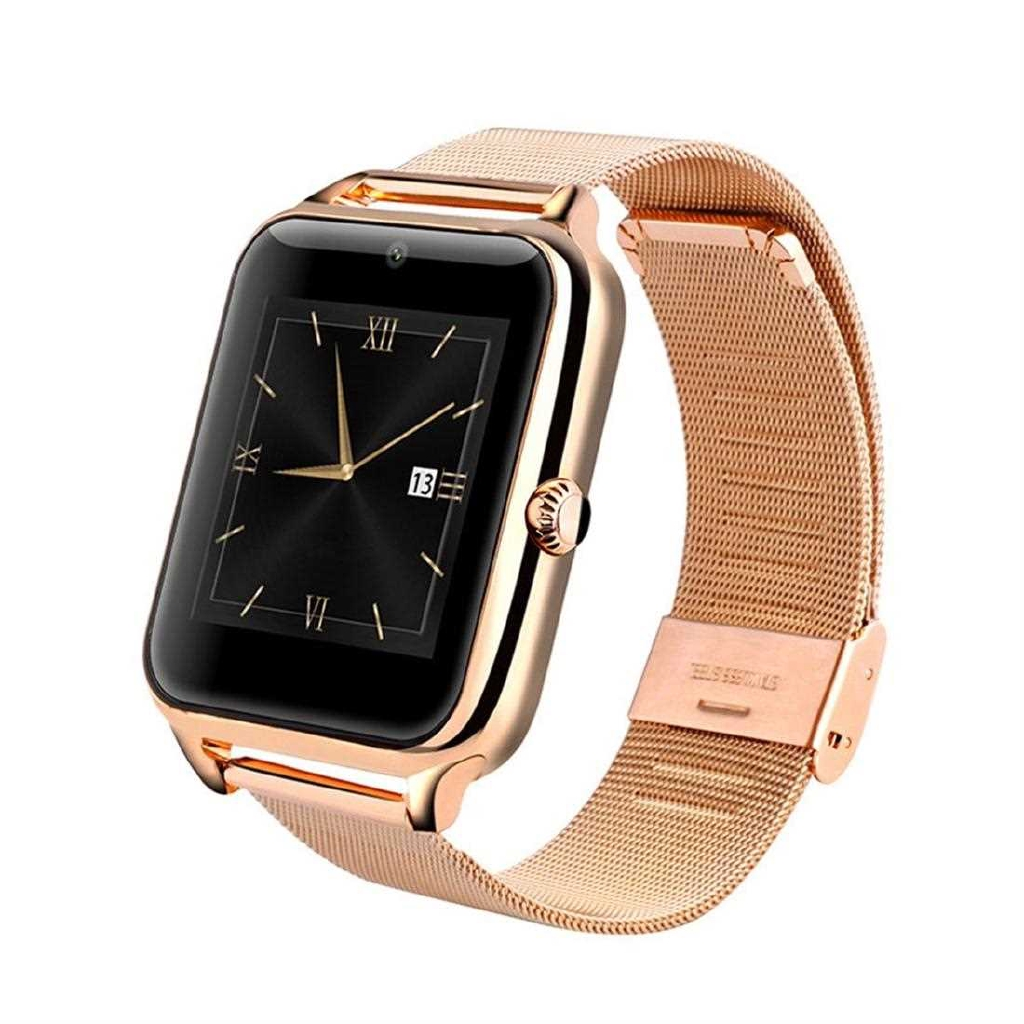 Z60 1.54 Inch Display Bluetooth Smart Watch With Camera Support SIM TF Card (Rose Red)
