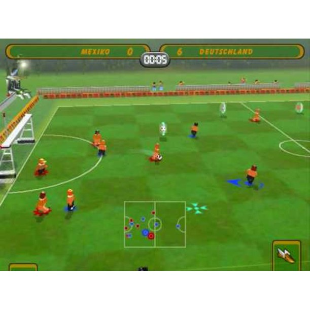 PS2 Game LEGO Football Mania, Sport Game, English version / PlayStation 2