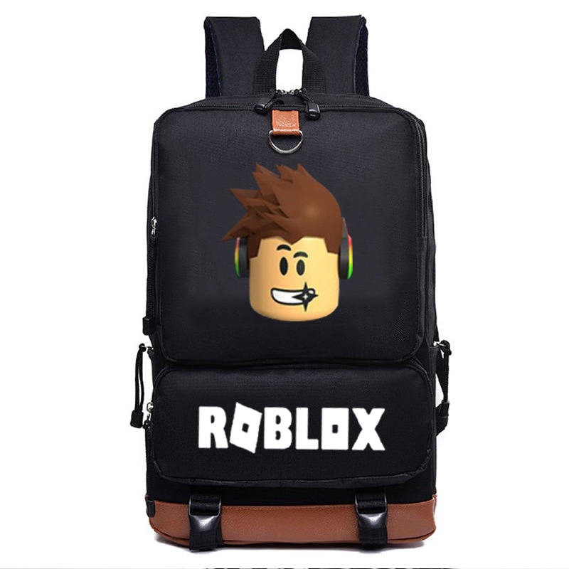 e92ff7b990 Roblox Backpack Student Kids Backpack lightning School BAG