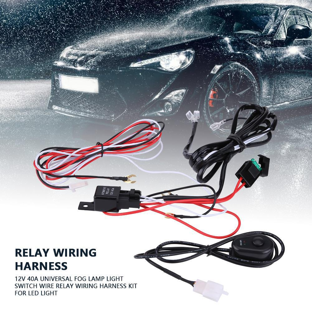 Wiring Harness 8ft On Off Power Switch For Off Road Led Light Bar