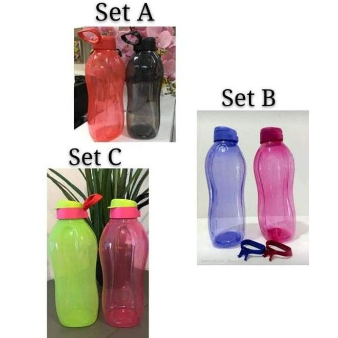 Tupperware  2L Giant Eco bottle Limited Edition