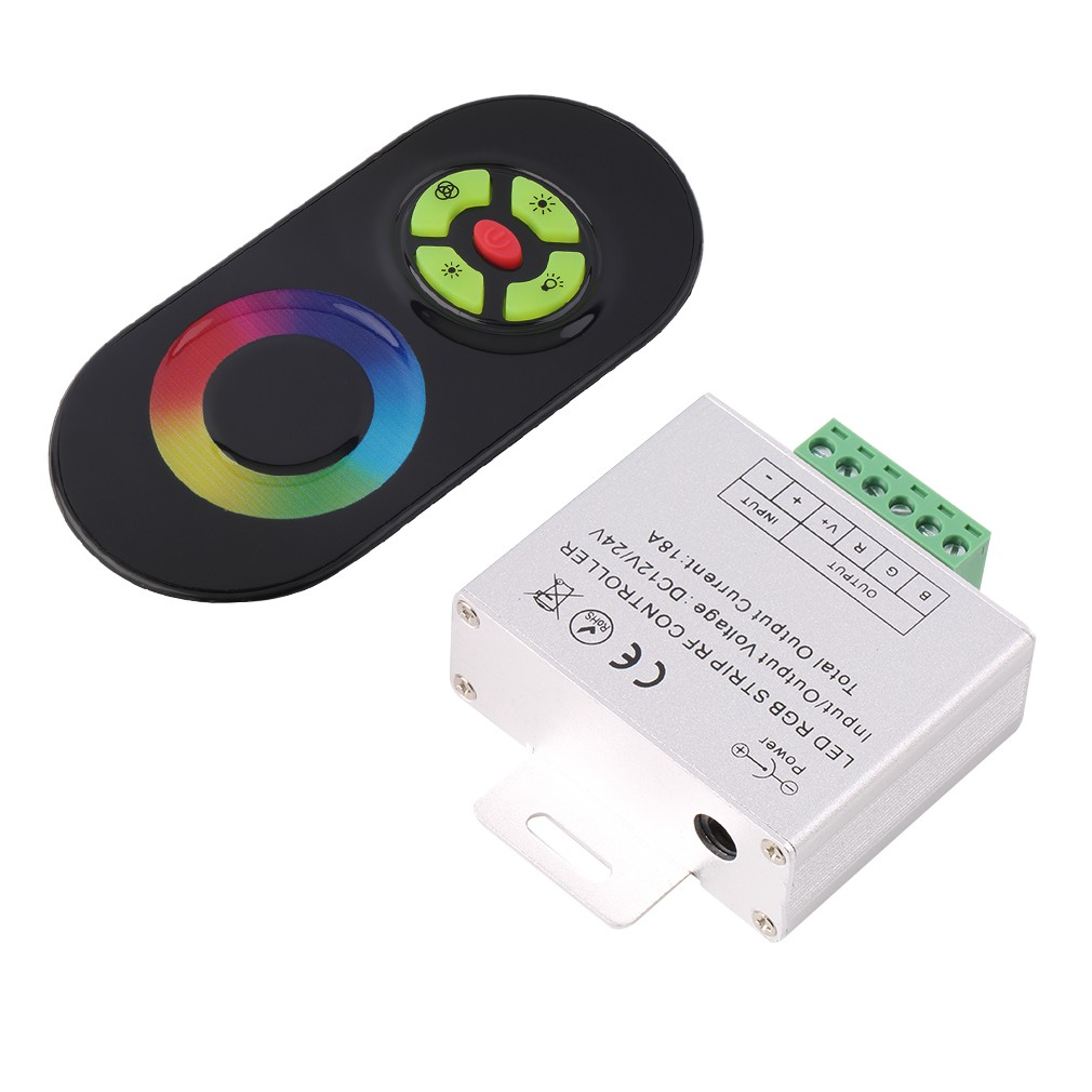 Dc 12v 8a Led Light Protect Strip Dimmer Adjustable Brightness Pwm Rf Remote Is A Controller That Can Shopee Malaysia