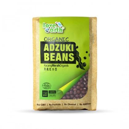 Love Earth Organic Adzuki Bean 550g 乐儿有机红豆 550公克