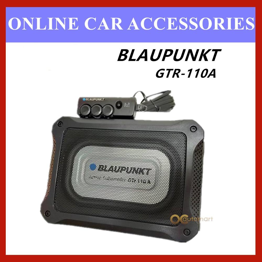 Blaupunkt Underseat Woofer GTR 110 A Velocity Power Active Subwoofer Built in Class AB Amplifier