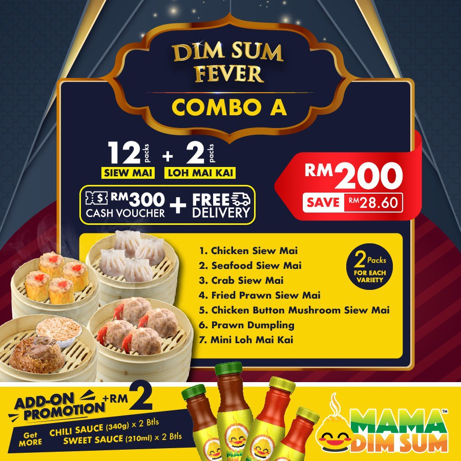 Dim Sum Fever Promotion Pack (Save 28.60)