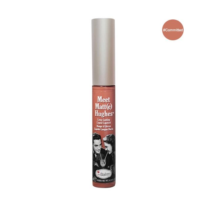 THE BALM Meet Matte Hughes Long Lasting Liquid Lipstick 7.3ml (No Box) #Comm