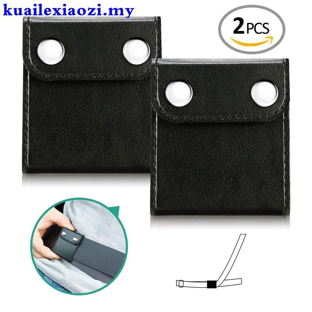 2pcs Car Seat Belt Clip Adjuster Safety Covers Shoulder Neck Strap Positioner Clip