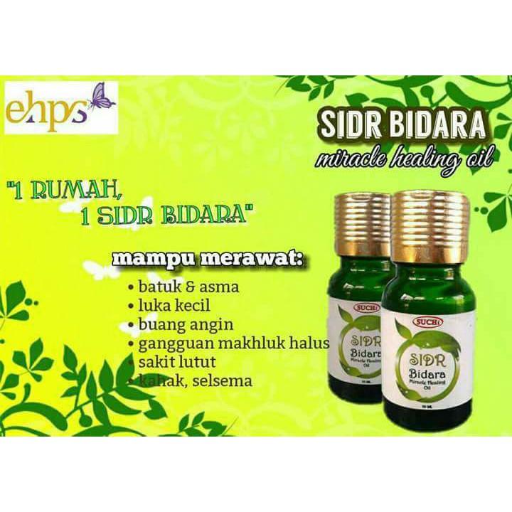SIDR Minyak Pati Bidara 100% Tiada Campuran SIDR Bidara Oil Gangguan Sihir Stress