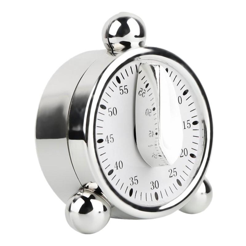 Mechanical Manual Kitchen Cooking Timer Study Alarm Reminder ...
