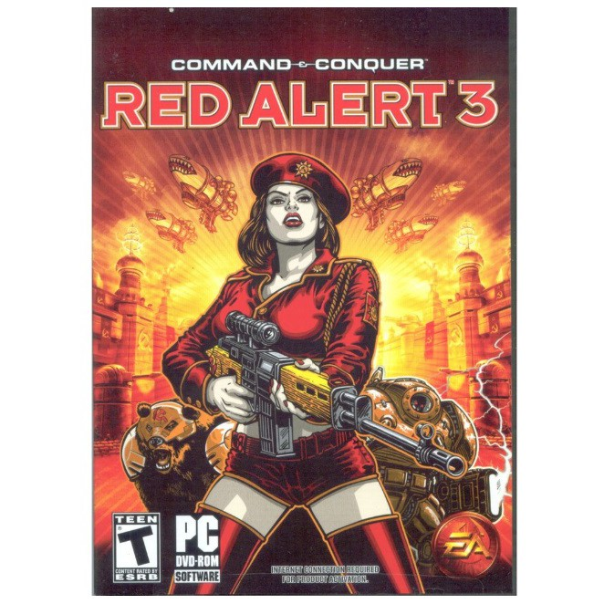 Command and Conquer: Red Alert 3 (PC DIGITAL DOWNLOAD)