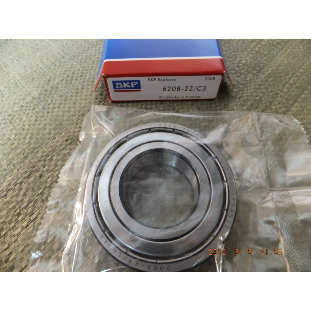 1pc SKF 608 2Z//C3 metal seals ball bearing deep groove Made in France new