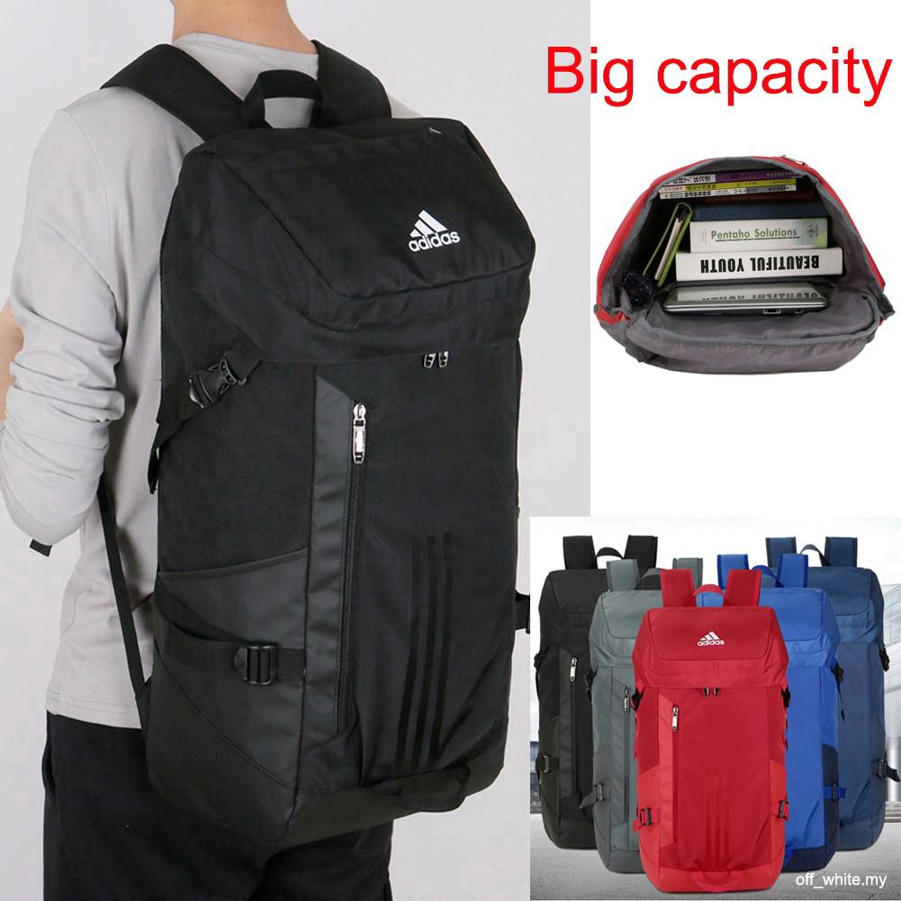 buy sale beauty to buy Ready Stock Adidas 60L Outdoor Sport Backpack Waterproof Large Travel Bag  Beg