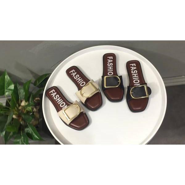Fashion Wanita Pakaian Luar Kata Sandal Sandal Kuning - Review ... 2cfb82b4cd