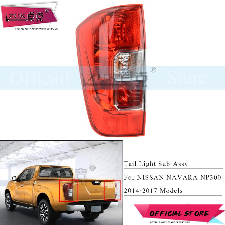 Car Parts For Nissan Navara 2005-2008 D40 Rear Tail Light Lamp N/S Passenger Left