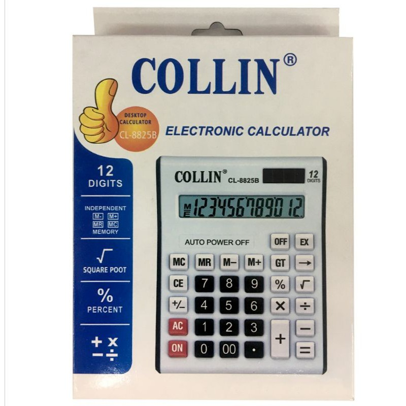 Collin Electronic calculator cl-8825b Big size