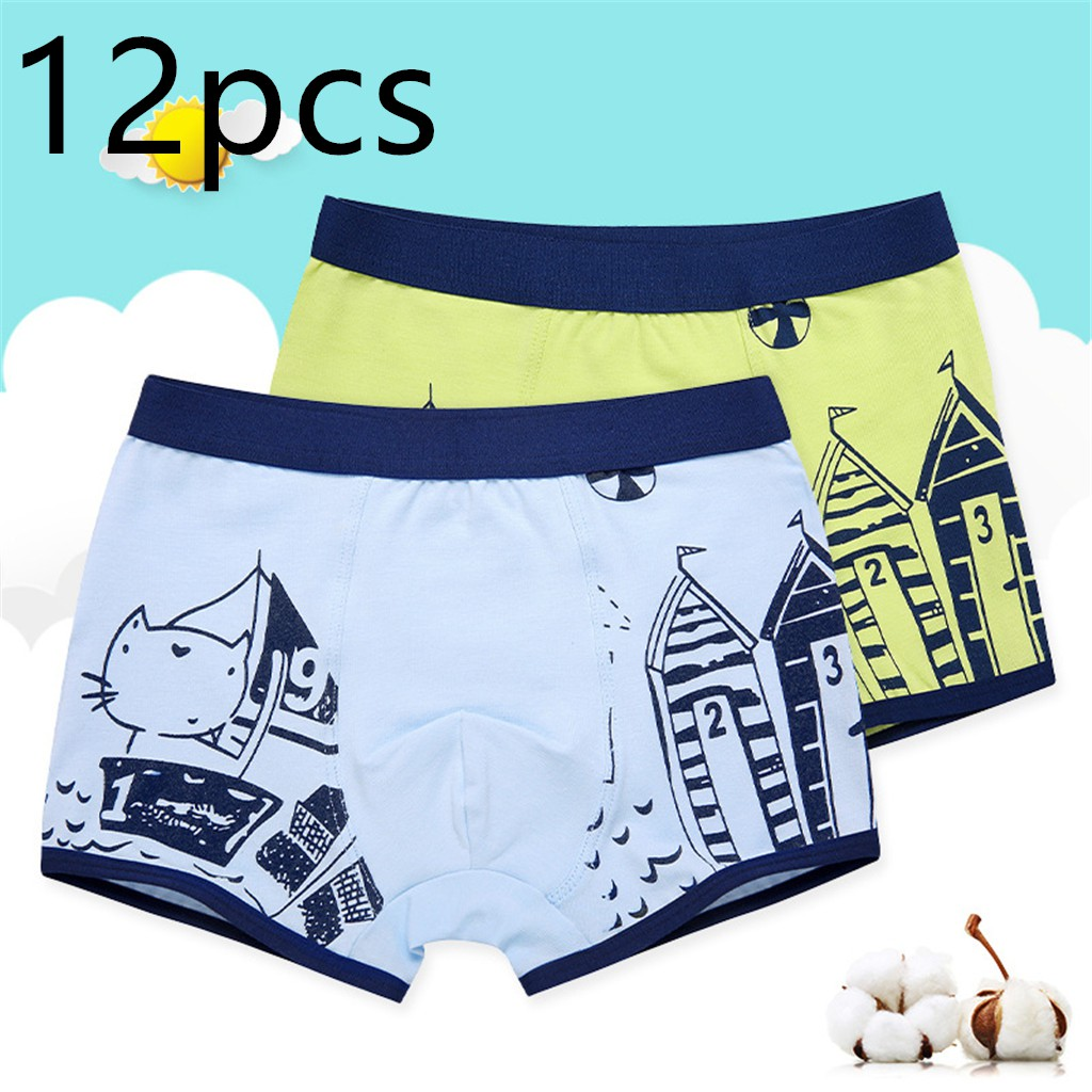 New Lot 5 Boy Kids Short Underwear Spandex Briefs