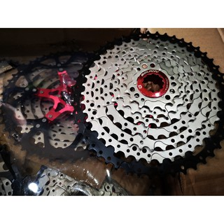 Details about  /BOLANY New 9 Speed Casstte 11-50T MTB Mountain Bike Cassette Bicycle Sprockets