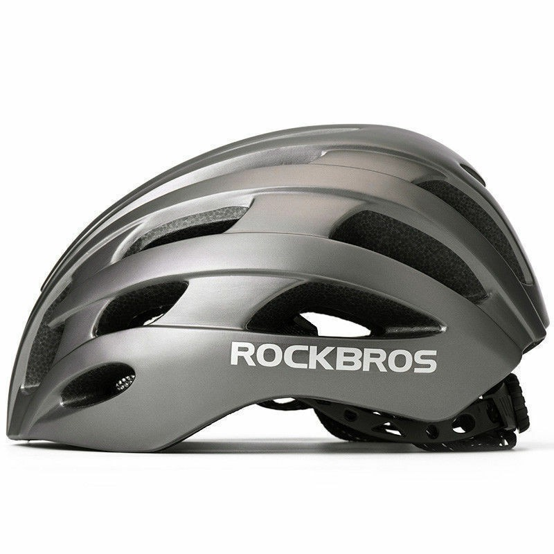 ROCKBROS Night Full Reflective Helmet Road Cycling Bright Safety Helmet 57-62cm