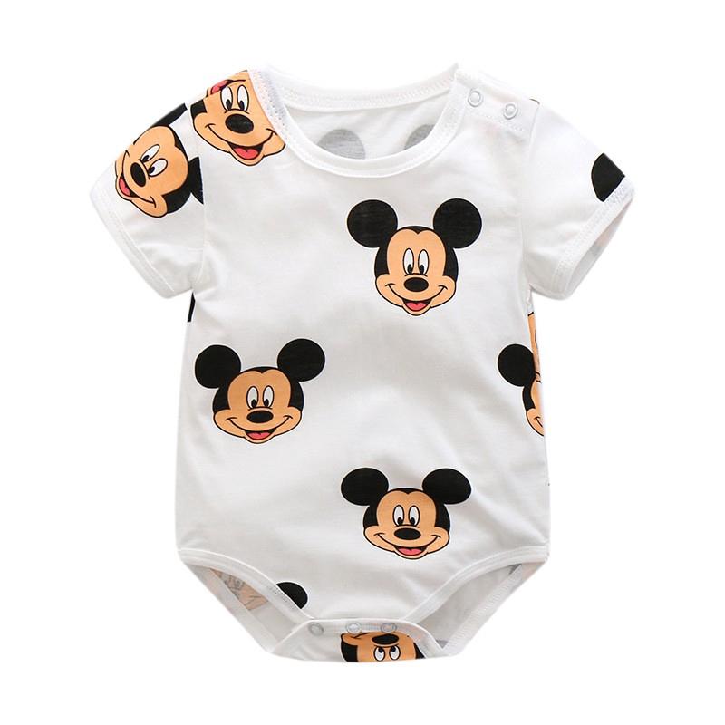 Wheat Baby Boys Jumpsuit Mickey Romper