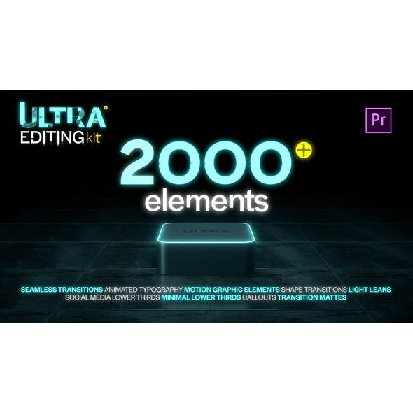 Ultra Editing Kit for Premiere Pro - Run Crazy With Creativity ( Full)