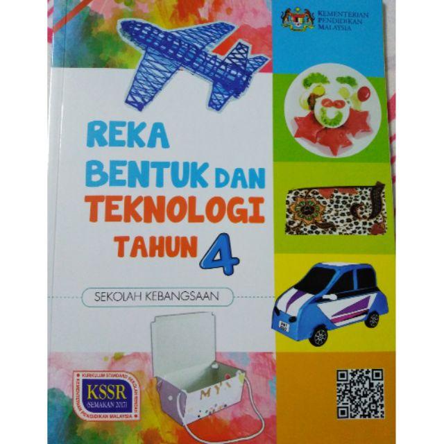 Buku Teks Reka Bentuk Dan Teknologi Tahun 4 Shopee Malaysia