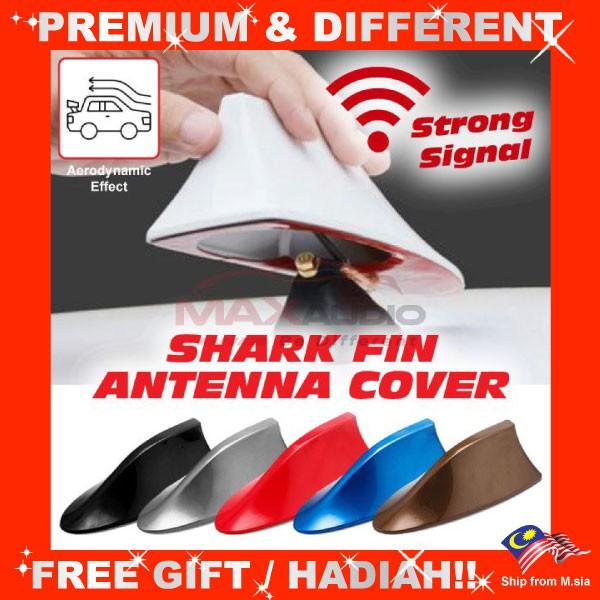 [FREE Gift] BMW Design Aerodynamic Diffuser Sport Shark Fin Roof FM AM Antenna Cover