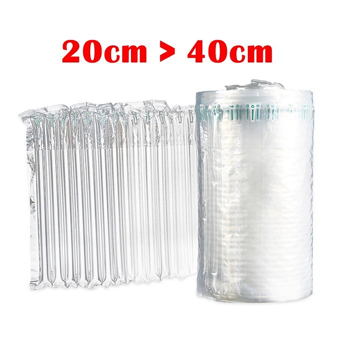 Inflateble Air Packinging Protective Bubble Pack Wrap Bag 20/25/30/35/40cm * 5 meter