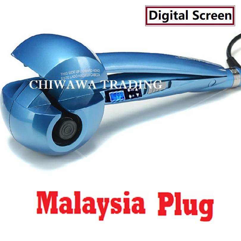 【Digital Screen】Auto Hair Curler Waver Roller Crimp Iron / Pengeriting Rambut