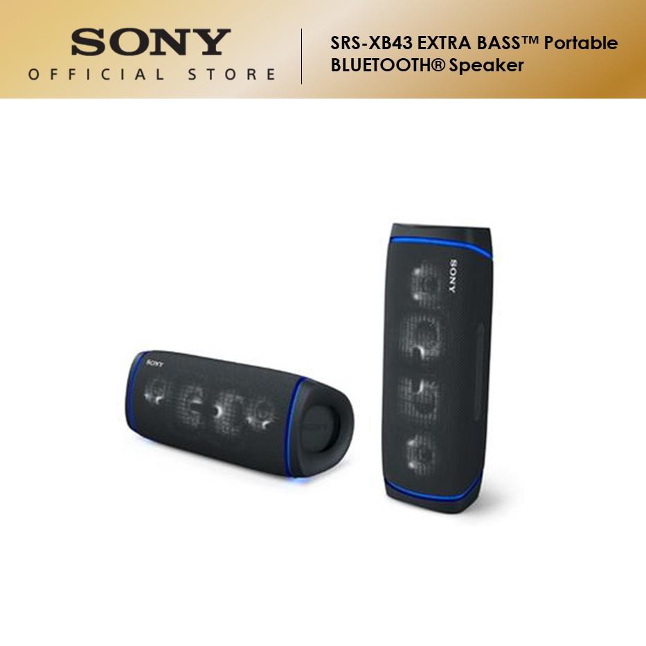 Sony SRS-XB43 Extra Bass Portable Bluetooth Speaker