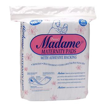 Pureen – Madame Maternity Pads 20's
