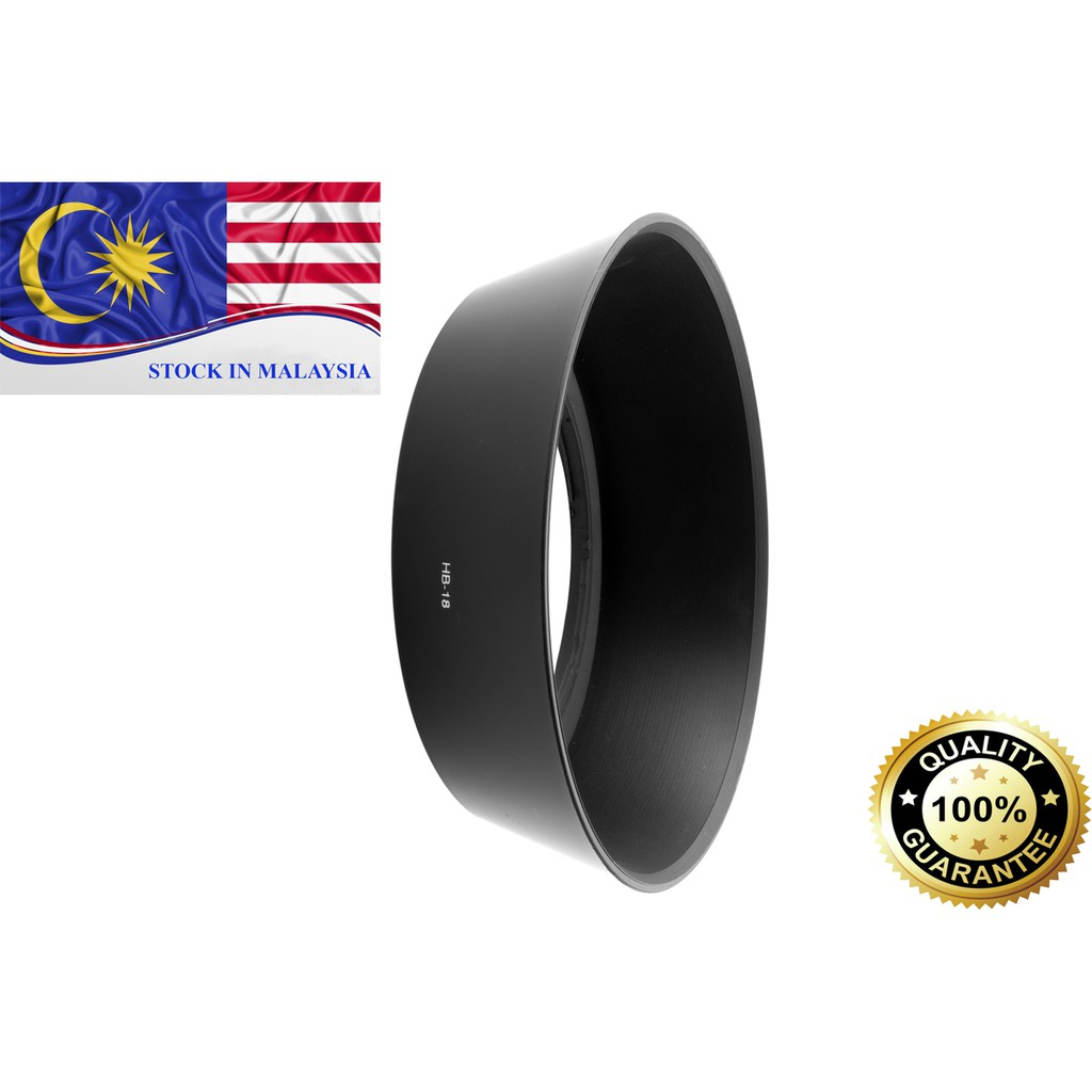 HB-18 Lens Hood (Bayonet) for Nikon 28-105mm f/3.5-4.5 D-AF Lens (Ready Stock In Malaysia)