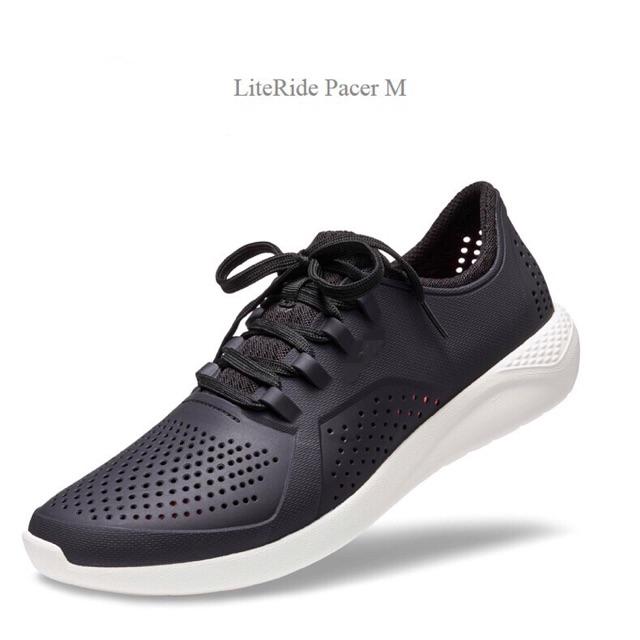 9fb02c1b5928e6 Crocs literide pacer shoes man authentic