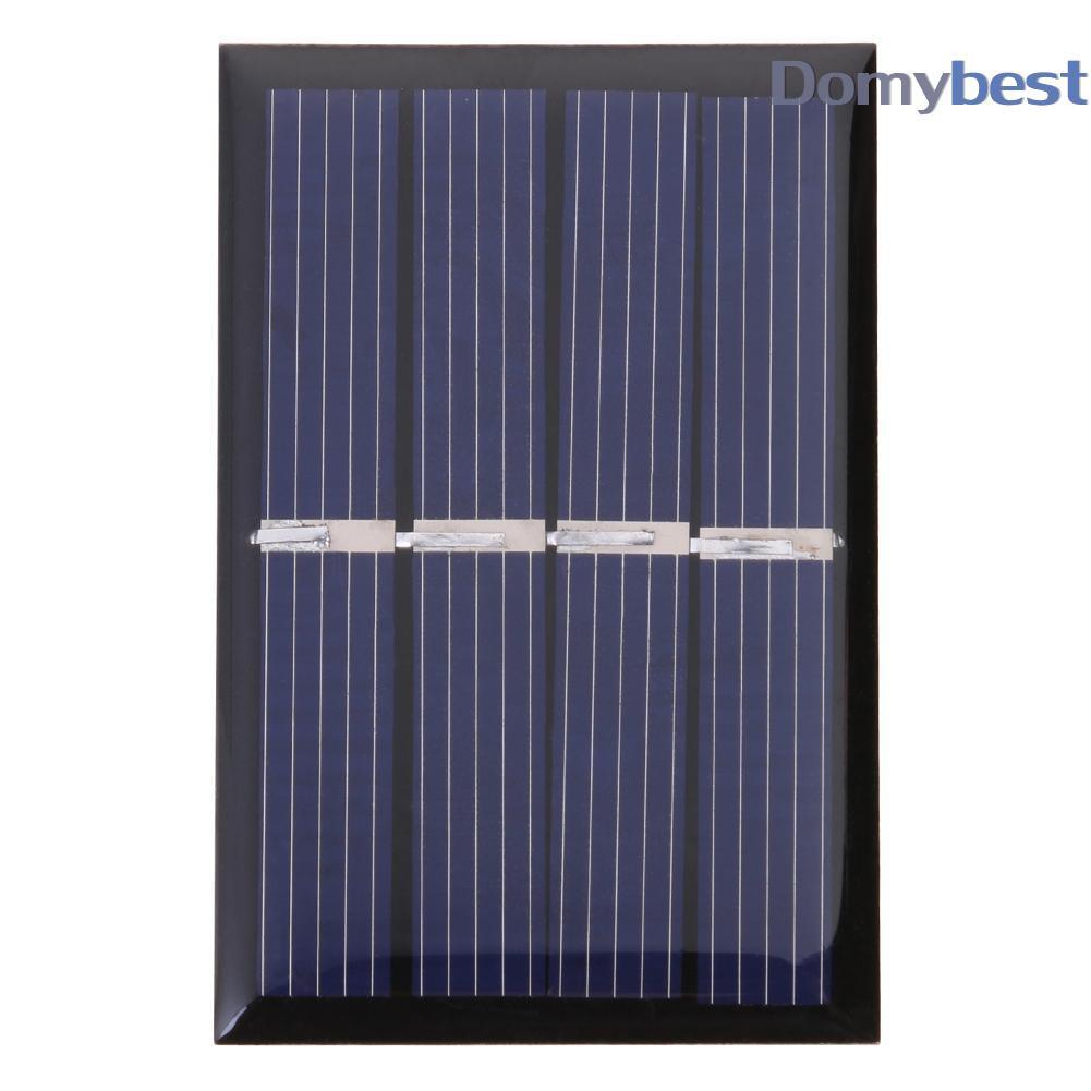 Domybest♚2V Polycrystalline 0.28W Solar Cell Module Panel DIY Charger