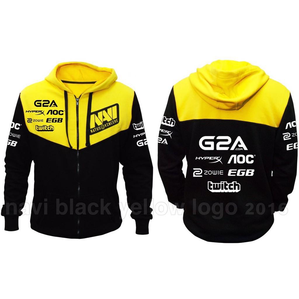 Casual Natus Vincere NAVI Cosplay Top Grade Hoodie Coat Sweater Outwear 5 color