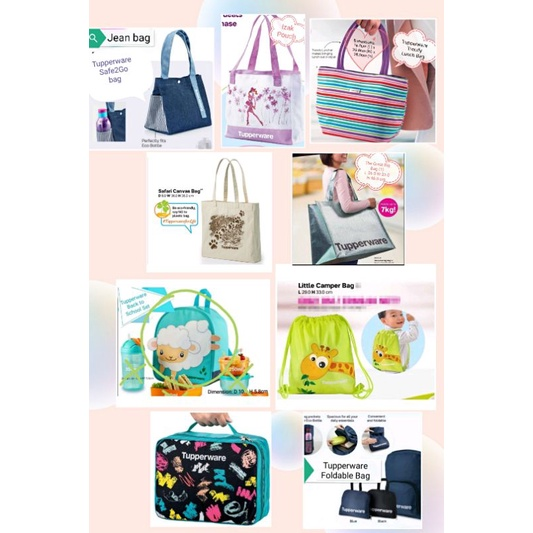 Tupperware Bags Collection