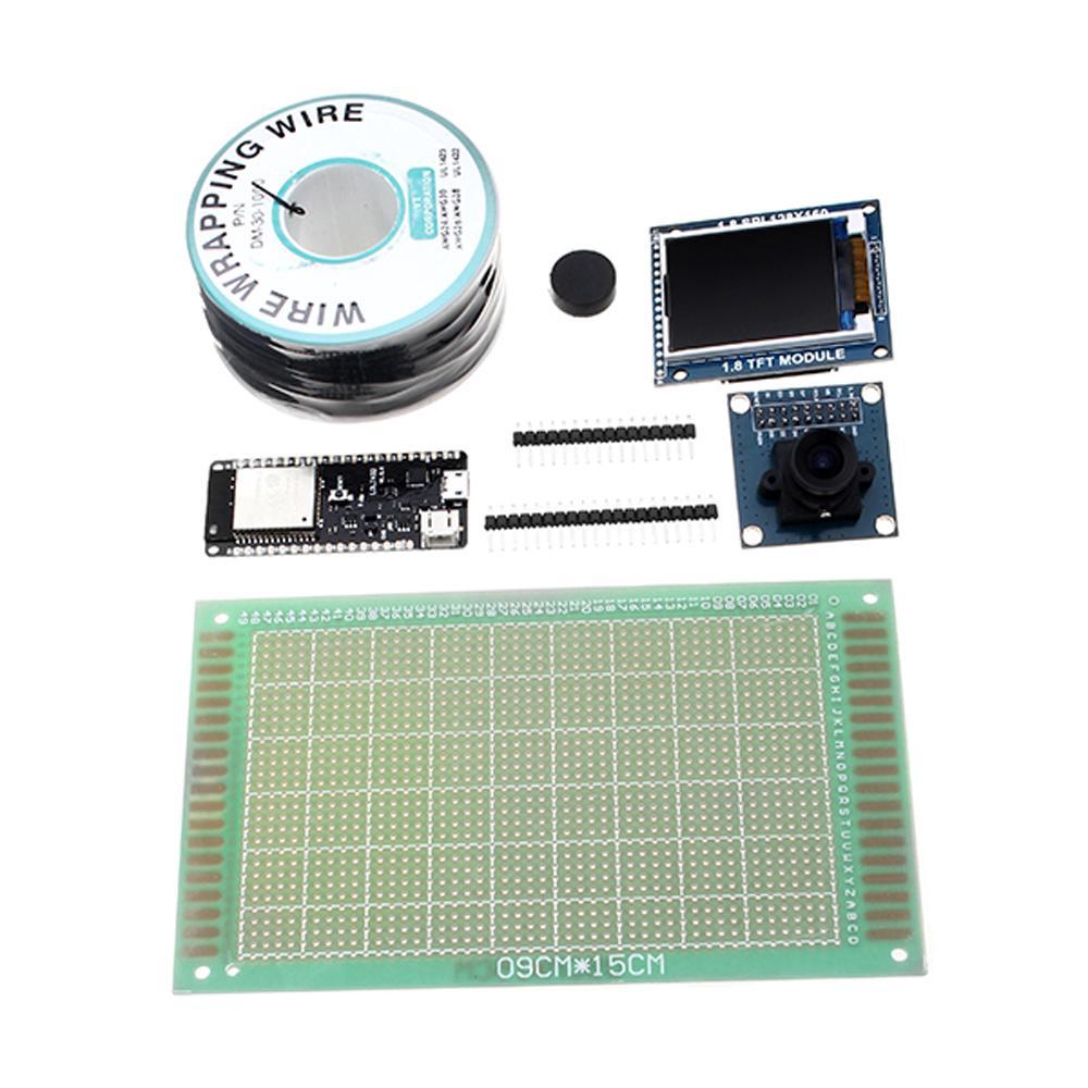Wemos® TTGO TS V1 0 esp32 1 44 TFT MicroSD Card Slot