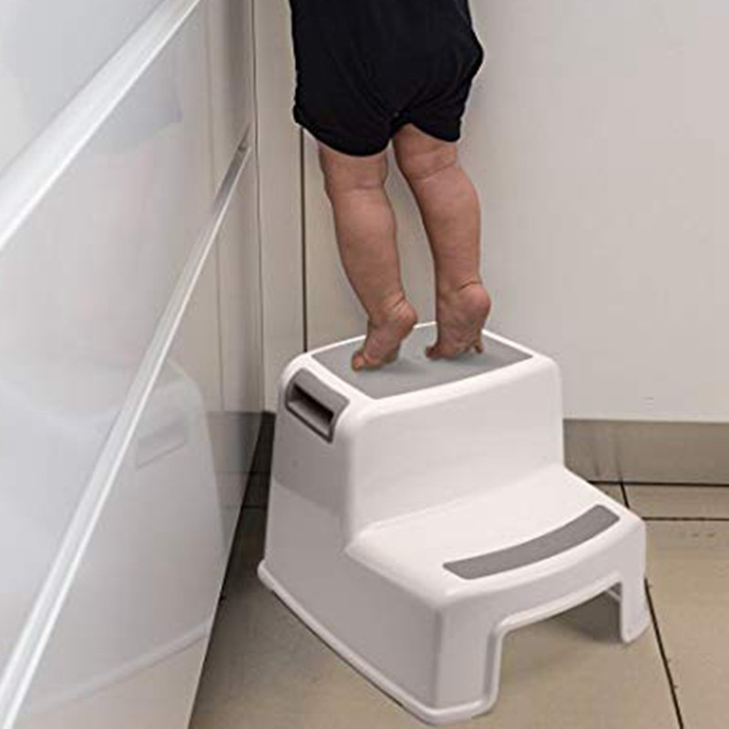 Wide 2 Step Stool For Kids Toddler