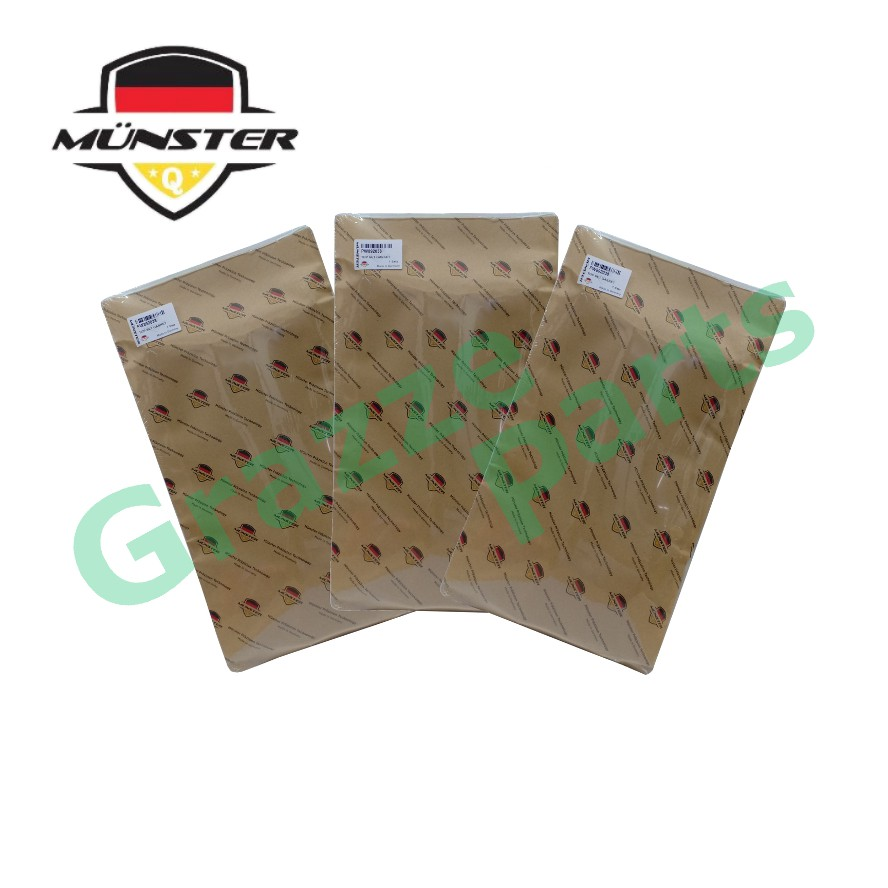 Münster Präzision Technology Auto / AT / Automatic Transmission Filter Set 31398-41X00 for Nissan Cefiro 12V Serena C23