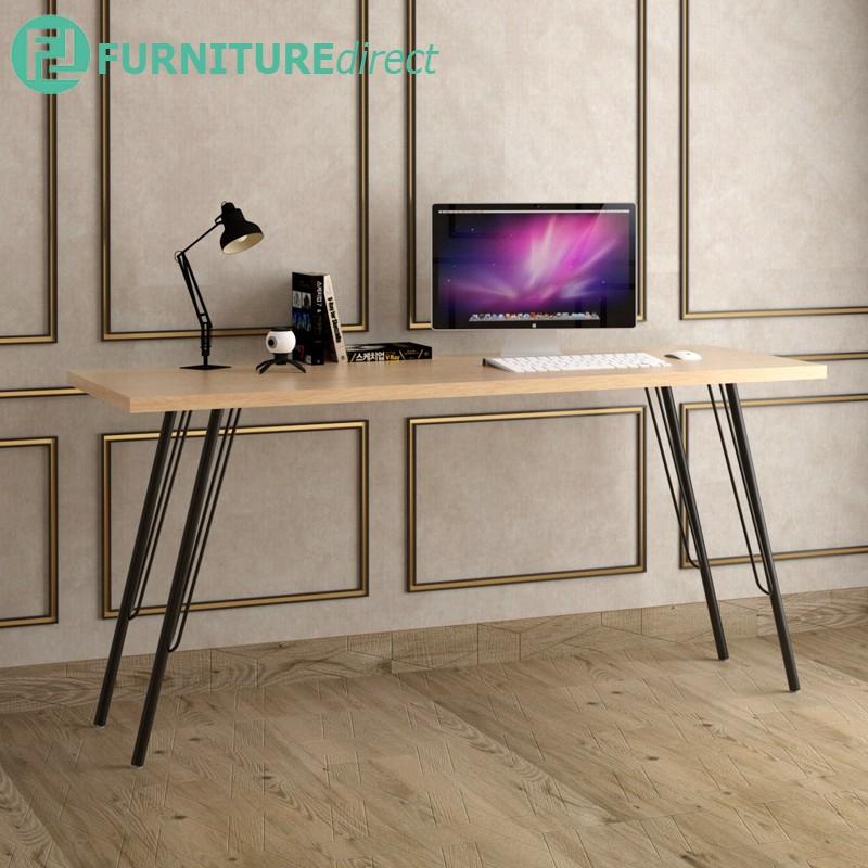 Furniture Direct TESSA 160x60cm Melamine Top Table/ meja berlajar/ office table