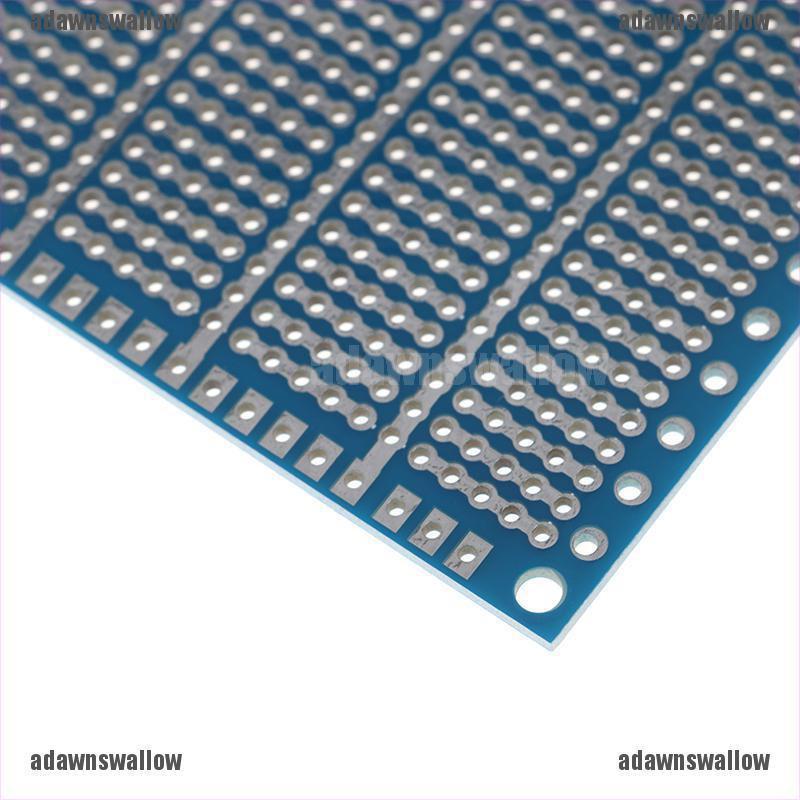 1pcs 10*15cm Blue Single Side PCB Universal Experiment Matrix Circuit Board U BJ