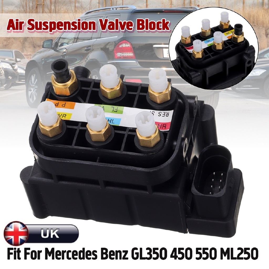 Air Suspension Valve Block Fit For Mercedes Benz GL350 450 550 ML250 2123200358