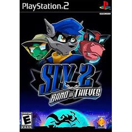 PS2  SLY 2 : Band of Thieves / SLY 3 : Honor Among Theives / SLY Raccoon[Burning Disk]