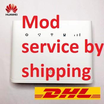 Mod modem service by pos B310 B618 e5577 e5573 r218h       gx30 konfem30  yes4g