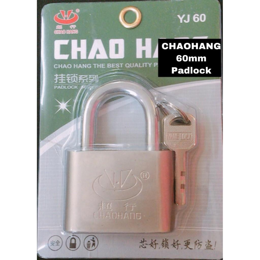 CHAOHANG Heavy Duty Brass Laminated Anti Rust Padlock YJ60