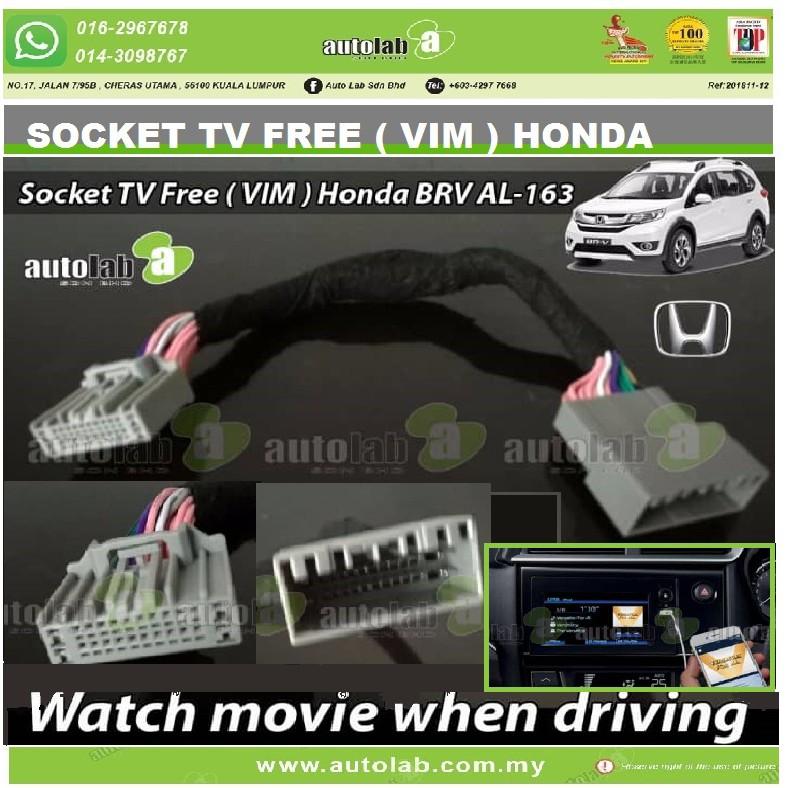 Socket TV Free (Bypass VIM) 24P HONDA BRV 2017-2019