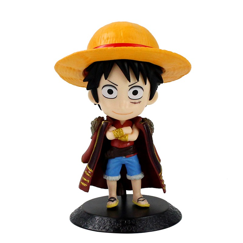 Qposket Monkey D Luffy Anime Pvc Action Figure One Piece Childhood Figurine Collectible Doll Kids Toy For Boys Children