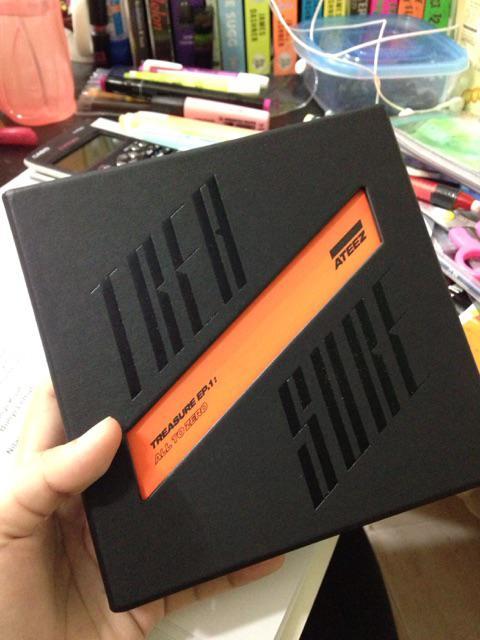 ATEEZ TREASURE EP 1 ALL TO ZERO ALBUM   Shopee Malaysia