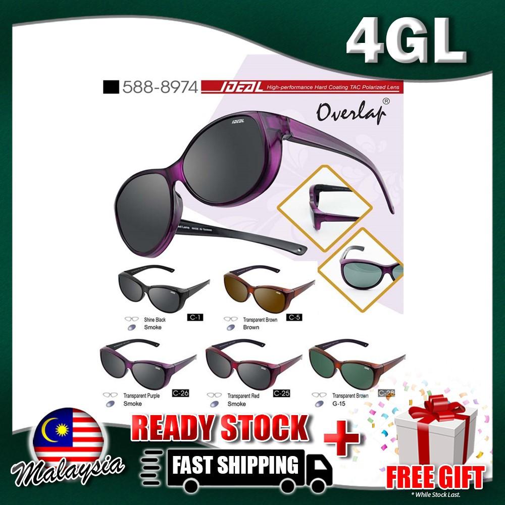 7bb803e19d 4GL Ideal 388-8832 Polarized Sunglasses Kaca Mata UV400